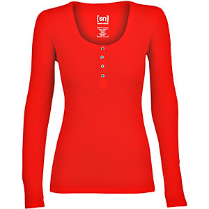 super natural Funktionsshirt Damen rot