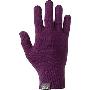 Jack Wolfskin Rib Fingerhandschuhe lila