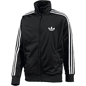 adidas firebird trainingsjacke herren schwarz wei 223 im online shop. Black Bedroom Furniture Sets. Home Design Ideas