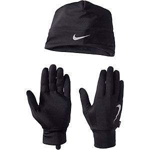 Nike Set Mütze/Handschuhe Set aus Mütze und Schal schwarz