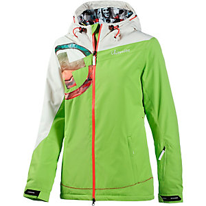 chiemsee happy snowboardjacke damen gr n wei im online shop von sportscheck kaufen. Black Bedroom Furniture Sets. Home Design Ideas
