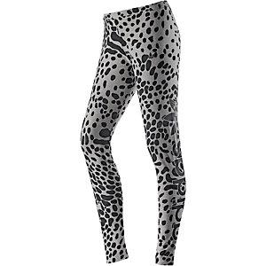 adidas Leggings Damen grau/schwarz