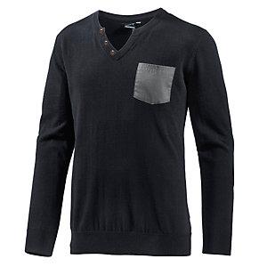 Maui Wowie V-Pullover Herren schwarz