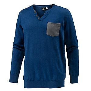 Maui Wowie V-Pullover Herren blau
