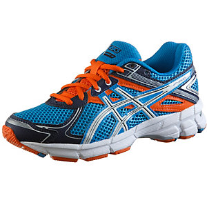 asics gt 1000 laufschuhe kinder blau orange im online shop. Black Bedroom Furniture Sets. Home Design Ideas
