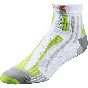 X-SOCKS Speed Two Laufsocken Herren weiß/limette
