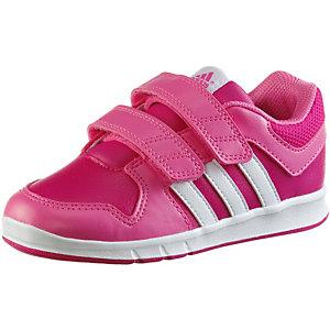 adidas LK Trainer Hallenschuhe Jungen pink/weiß