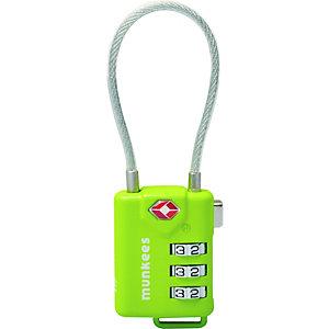 Munkees TSA Cable Combination Lock Schloss -