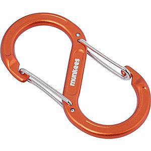 Munkees S-Form Karabiner -