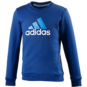 adidas Sweatshirt Jungen blau/hellblau/weiß