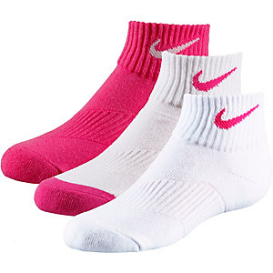nike socken pack kinder pink grau im online shop von. Black Bedroom Furniture Sets. Home Design Ideas