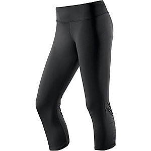 Under Armour Tights Damen schwarz/neongelb