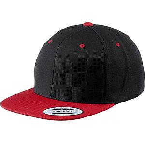Flexfit Classic Snapback 2-Tone Cap schwarz/rot