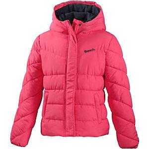 Bench Winterjacke Mädchen pink/schwarz