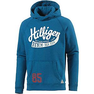 tommy hilfiger hoodie herren blau im online shop von sportscheck. Black Bedroom Furniture Sets. Home Design Ideas