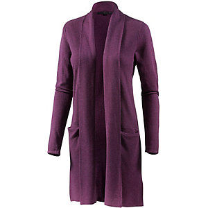 minimum Strickjacke Damen bordeaux