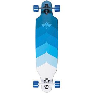 "Dusters Lgb. Wake 38"" Longboard-Komplettset blau/weiß"
