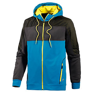 unifit Trainingsjacke Herren blau/grau/schwarz