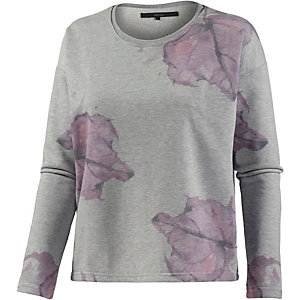 minimum Sweatshirt Damen graumelange