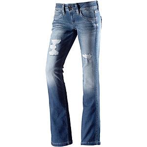 pepe jeans damen jeans banji darkblue darkblue pictures to. Black Bedroom Furniture Sets. Home Design Ideas