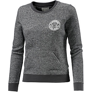 CONVERSE Sweatshirt Damen schwarz
