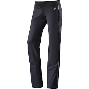 unifit Trainingshose Damen schwarz/weiß