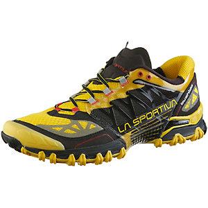 La Sportiva Bushido Laufschuhe Herren schwarz/gelb