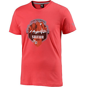 SALEWA AlpineLife Authentic T-Shirt Herren rot