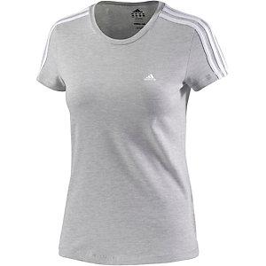 adidas T-Shirt Damen graumelange