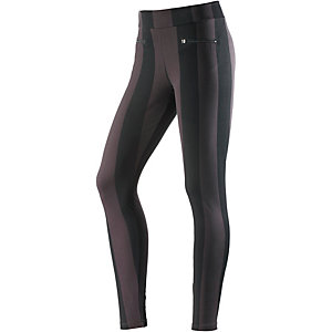 wellicious Tights Damen anthrazit/schwarz