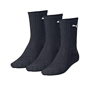 PUMA Sportsocken schwarz