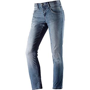 TOM TAILOR Straight Fit Jeans Damen light denim