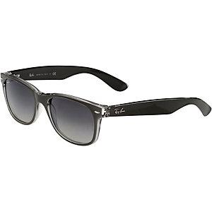 RAY-BAN New Wayfarer 0RB2132 614371 55 Sonnenbrille schwarz