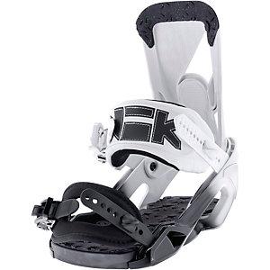 Nikita Ninja Snowboardbindung Damen weiß/schwarz