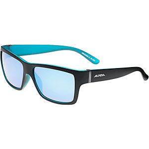 ALPINA Kacey Sonnenbrille black matt - blue