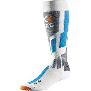 X-SOCKS Snowboardsocken weiß/blau