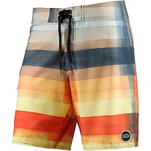 Ezekiel Opie Boardshorts Herren gelb/petrol/orange