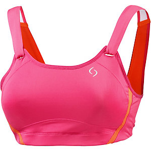 Moving Comfort Sport-BH Damen pink/orange