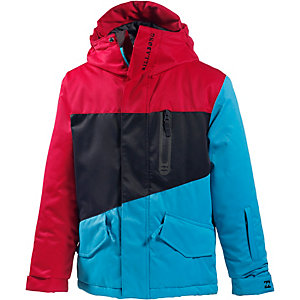 Billabong Snowboardjacke Jungen rot/schwarz/blau