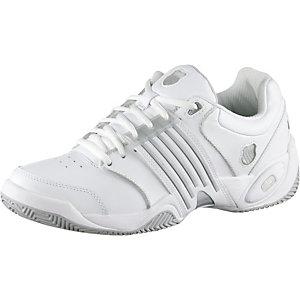K-Swiss Tennisschuhe Damen weiß/silberfarben