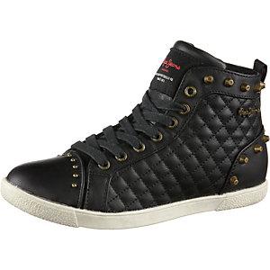 Pepe Jeans Sneaker Damen schwarz