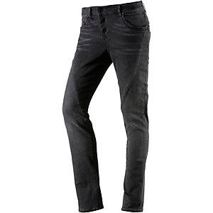 Only Lizzy Skinny Fit Jeans Damen grau I