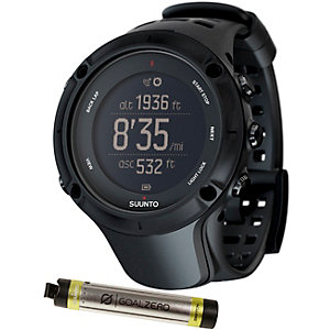 Suunto Ambit 3 Peak Bundle Multifunktionsuhr schwarz