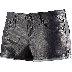 REPLAY Jeansshorts Damen bronze/metallic