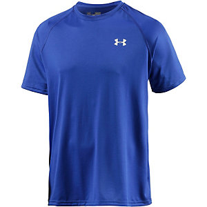 Under Armour Heatgear Tech Funktionsshirt Herren royal