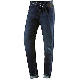 Lee Sallie Straight Fit Jeans Damen dark denim