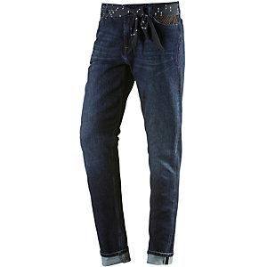 Lee Sallie Straight Fit Jeans Damen dark denim