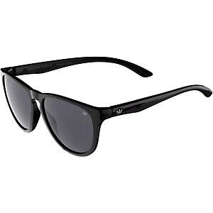 adidas San Diego Sonnenbrille black shiny/darkgrey