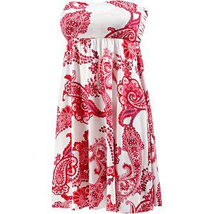 Lascana Minikleid Damen rot/weiß
