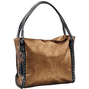 Buffalo Handtasche Damen hellbraun